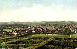 Postcard Herrnhut in der Oberlausitz, Gesamtansicht der Ortschaft