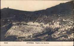Postcard Athen Griechenland, Théâtre de Bacchus, Antikes Theater