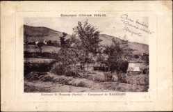Postcard Baresani Mazedonien, Environs de Monastir, Campagne d'Orient 1914
