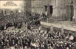 Ak Nantes Loire Atlantique, Rétablissement des processions en 1921, Cathédrale