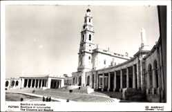 Foto Ak Fátima Portugal, Basilica e colunates, Basilika, Kolumnen