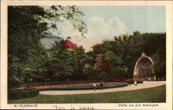 Postcard Mönchengladbach in Nordrhein Westfalen, Partie im Kaiserpark