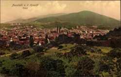 Postcard Neustadt an der Haardt Weinstraße, Stadtpanorama, Felder, Hänge