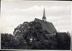 Postcard Marienthal Wesel Hamminkeln, Dach der Augustiner Klosterkirche