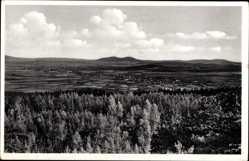 Postcard Walddorf Kottmar, Blick auf den Kottmarberg, Baude, Wiesen