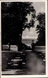 Postcard Göhren auf der Insel Rügen, Partie am Waldhotel, Carl Gager
