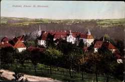 Postcard Ostritz in der Oberlausitz, Das Neißetal, Kloster St. Mariental