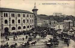 Postcard San Sebastian Baskenland, Nueva Plaza de Toros