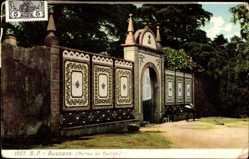Postcard Bussaco Buçaco Portugal, Portas de Rainha, Tor