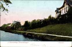 Postcard Scheveningen Den Haag Südholland, 't Kanaal, Flusskanal