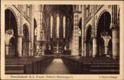 Postcard 's Gravenhage Den Haag Südholland, Parochiekerk OL Vrouw Onbevl. Ontvangenis