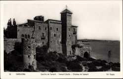 Foto Ak Tarragona Katalonien, Castillo de Tamarit, Chateau