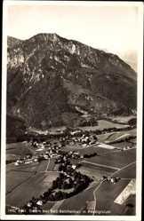 Postcard Bayerisch Gmain im Berchtesgadener Land Oberbayern, Stadt mit Predigtstuhl