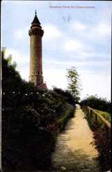 Postcard Kaiserslautern in Rheinland Pfalz, Ansicht vom Humberg Turm