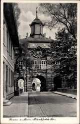 Postcard Hanau im Main Kinzig Kreis Hessen, Ansicht vom Frankfurter Tor