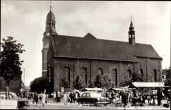 Postcard Bocholt im Münsterland, Liebfrauenkirche mit Liebfrauenplatz