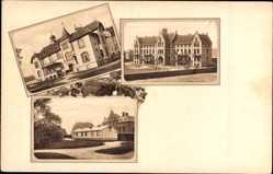 Postcard Bad Pyrmont in Niedersachsen, DRK Clementinenhaus