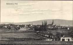 Postcard Bockenem am Harz, Blick vom Feld auf die Ortschaft