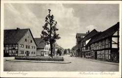 Postcard Coppenbrügge in Niedersachsen, Kellerplatz mit Osterstraße