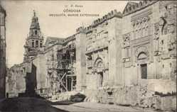 Postcard Cordoba Andalusien Spanien, Mezquita, Muros Exteriores, Alte Gebäude