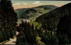 Postcard Todtmoos im Hochschwarzwald, Blick vom Sanatorium Wehrawald
