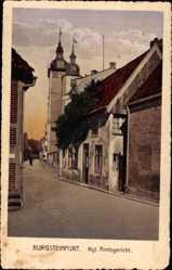 Postcard Burgsteinfurt Steinfurt in Nordrhein Westfalen, Königliches Amtsgericht