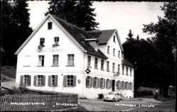 Foto Ak Memmingen an der Iller Schwaben, Waldgaststätte Dickenreis