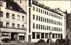 Postcard Neunkirchen an der Blies Saarland, Postamt, SVZ CVP Parteiaushänge