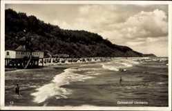 Postcard Ückeritz Mecklenburg Vorpommern, Strand, Wellengang