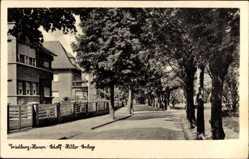 Postcard Friedberg im Wetteraukreis Hessen, Adolf Hitler Anlage, Wohnhäuser