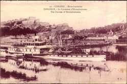 Postcard Koblenz in Rheinland Pfalz, Ehrenbreitstein, Salondampfer Elberfeld
