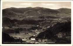 Postcard Wembach Kreis Lörrach, Schindeln Hof und Genesungsheim Rabenfels