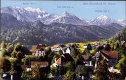 Postcard Bad Faulenbach Füssen im schwäbischen Kreis Ostallgäu, Panorama, Purger 14191