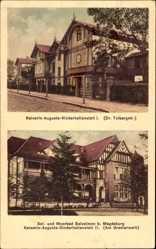 Postcard Salzelmen Schönebeck an der Elbe im Salzlandkreis, Kinderheilanstalt