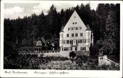 Postcard Bad Niedernau Rottenburg am Necker, Krieger Erholungsheim