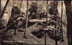 Postcard Kandern im Schwarzwald Baden Württemberg, Wolfsschlucht, Wald