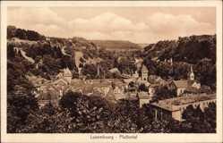Postcard Luxemburg, Blick in das Pfaffental und die Umgebung
