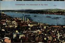 Postcard Konstantinopel Istanbul Türkei, Vue panoramique de Top Hane