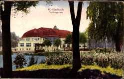 Postcard Mönchengladbach in Nordrhein Westfalen, Blick in den Volksgarten