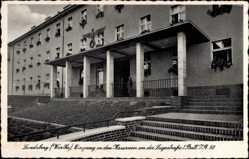 Ak Landsberg Warthe Ostbrandenburg, Kasernen, Lugestraße, 1 Batl I.R. 50