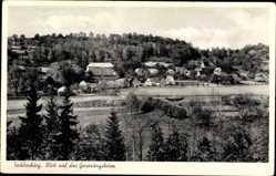Postcard Tecklenburg in Nordrhein Westfalen, Blick auf das Genesungsheim