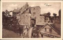 Postcard Alzey in Rheinhessen, Das Amtsgericht, Geschäft Th. Kleinknecht