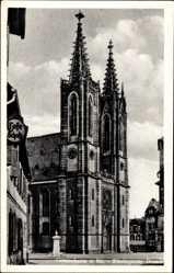 Postcard Geisenheim am Rhein Hessen, Seitenansicht vom Rheingauer Dom
