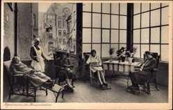 Postcard Kinden Hannover in Niedersachsen, Krankenhaus St Josefsstift, Bennostraße 4