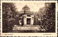 Postcard Bad Salzschlirf in Hessen, Blick auf Bonifaziusbrunnen