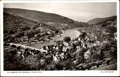 Postcard Ziegelhausen Heidelberg am Neckar, Neckartal mit Brücke