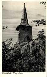 Postcard Elten Emmerich an Niederrhein, Stiftskirche Hoog