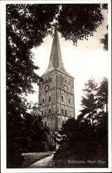 Postcard Hoog Elten Emmerich, Blick auf die Stiftskirche