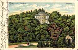 Litho Aachen in Nordrhein Westfalen, Ansicht vom Belvedere