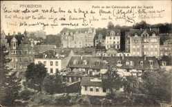 Postcard Pforzheim im Schwarzwald Baden Württemberg, Partie an der Calwerstraße